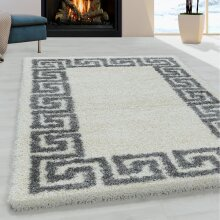 White Fluffy Rug Soft Thick White Cream Shaggy Carpet Large Small Bedroom Living Room Mat