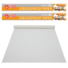 Greaseproof Paper Rolls 2pk   8 Metre Water Proof  
