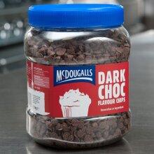 McDougalls Dark Choc Flavoured Chips - 1x1.1kg