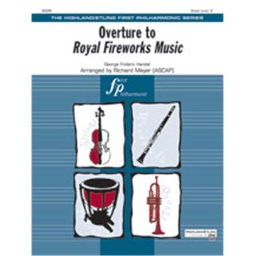 Alfred 00-42069 OVERTURE ROYAL FIREWORKS MUSIC-HFP