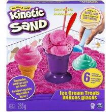Kinetic Sand Ice Cream Treats with 6 tools and 10oz of Kinetic Sand