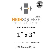 1x3 inch HighSqueeze Rosin Micron Extraction Filter Bags