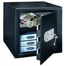 High Security Home Office Key Lock Safe Monaco 45 Rottner