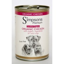 Simpsons Certified Organic Chicken Casserole Wet Adult Dog Food (Pack Of 6)