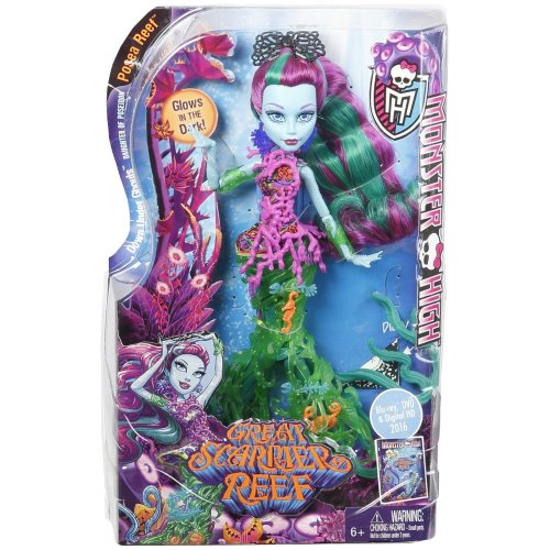 Monster High Great Scarrier Reef Posea Doll