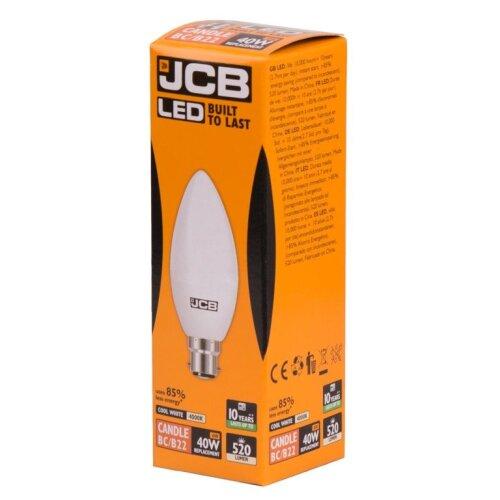 JCB LED C37 6W B22 Boxed [S12502]