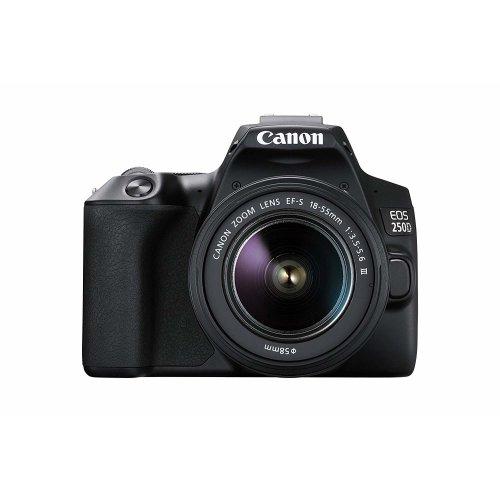 CANON EOS 250D KIT EF-S 18-55mm F3.5-5.6 III Black