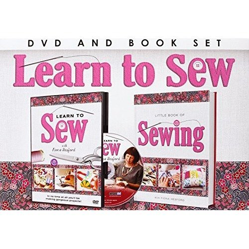Learn To Sew Book + DVD [2014]