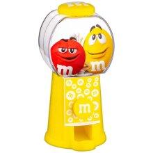 M&M's Dispenser Suitable For Dispensing Plain Chocolate M&M's - Yellow