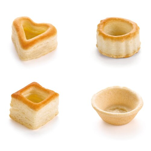 Pidy Mini Cocktail Puff Pastry Assortment - 1x48