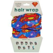 Superman 816879 Superman Classic Symbol Face Mask & Hair Wrap