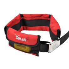 diving set Adjustable 4 Pocket Diving Weight Belt With Stainless Steel Buckle Water Sport Equipment For Underwater Hunting 4 Colors