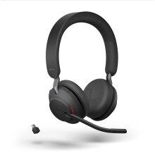 Jabra Evolve2 65 Link380 USB-A MS Teams Certified Stereo Black 26599-999-999