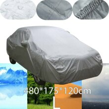 Heavy 2.2KG Waterproof Large L 2 Layer Full Car Cover Breathable