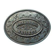 Jack Daniels Oval Insert Belt Buckle