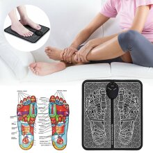 EMS Leg Reshaping Foot Massager Mat Pad Blood Muscle Relief Pain