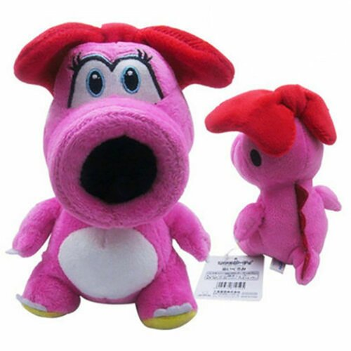 """6""""Birdo Super Mario Bros Plush Stuffed Doll Dragon"""