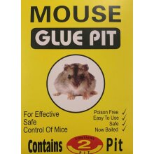 Mouse Trap Sticky Board for Rat & Mice 2 Traps Per Pack Gel Baited