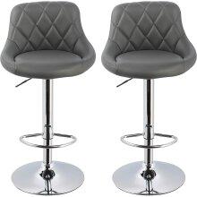 Bar Stools CounterStoolsBreakfast Barstools Chairs Grey / White / Black (2pcs/4pcs)