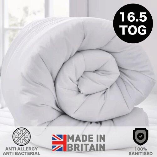 (Single) Extreme Winter Warm 16.5 Tog Anti Allergy Duvet