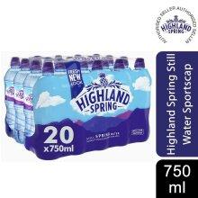 Highland SpringWater SportsBottle, 20pk, 750ml