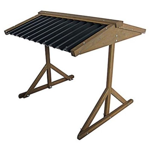 Innovation Pet 242679 Double Wood Food & Water Shelter