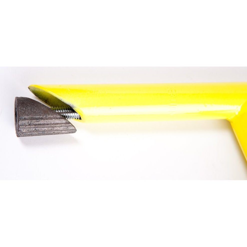 """/& 25.4m Clamp YELLOW 1/"""" Bike HANDLEBAR Quill STEM with LONG REACH 100mm"""