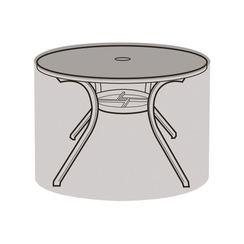 4-6 Seater Round Table Cover - Super Tough Polyethylene