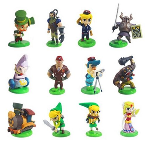 12pcs The Legend of Zelda Figure Toy Collection
