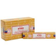 Satya Myrrh Incense Sticks (Pack of 120)