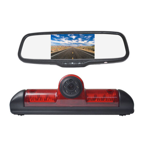 Vardsafe Reverse Parking camera + Clip-on Rear View Mirror Monitor for Fiat Ducato / Peugeot Boxer / Citroen Jumper