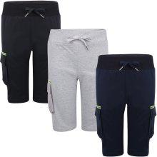 Kids Sport Neon Pocket Pant Summer Jersey Shorts