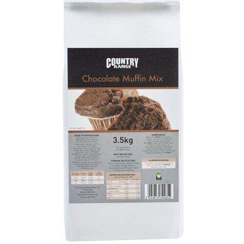 Country Range Chocolate Muffin Mix - 4x3.5kg