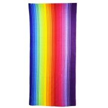 GEEZY Rainbow Microfibre Beach Towel