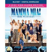 Mamma Mia! Here We Go Again [2018] (Blu-ray)
