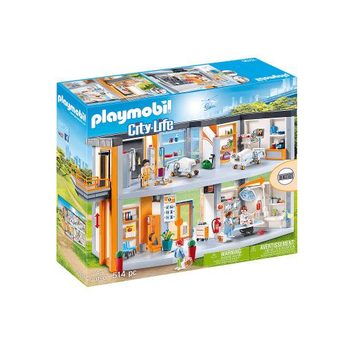 Playmobil City Life Large Hospital Play Set | Playmobil Hospital