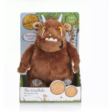 WOW! STUFF Interactive Gruffalo Soft Toy   Official Talking 12 Inch Plush Teddy From The Julia Donaldson and Axel Scheffler Childrens Books