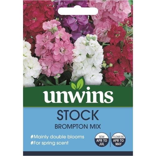 Unwins Pictorial Packet - Stock Ten Week Mix - 220 Seeds