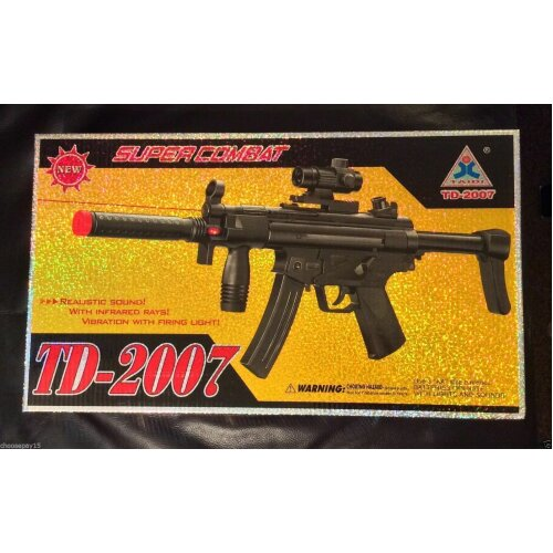 TD 2007 Toy Machine Gun