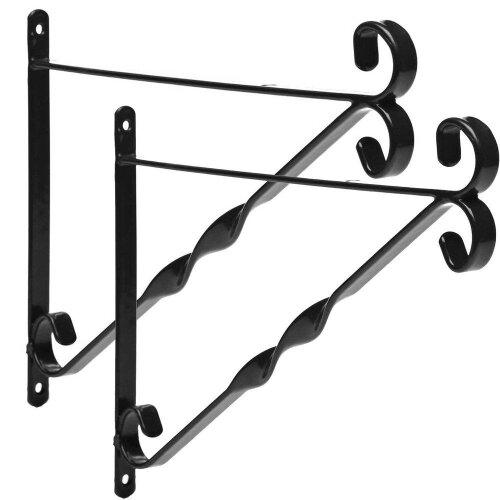 12 Inch Hanging Basket Bracket 2PC