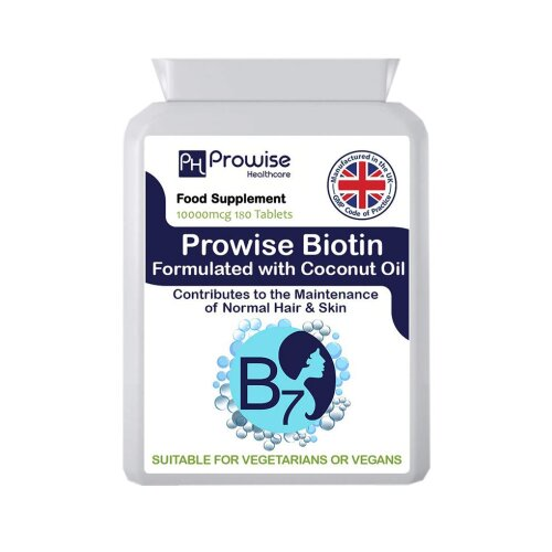 Biotin Formulated with Coconut 180 Tablets