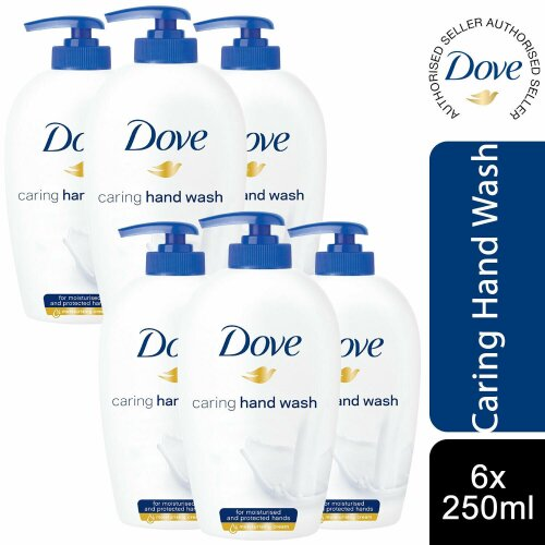 Dove Nourishing Hand Wash,Pack of 6 x 250 ml