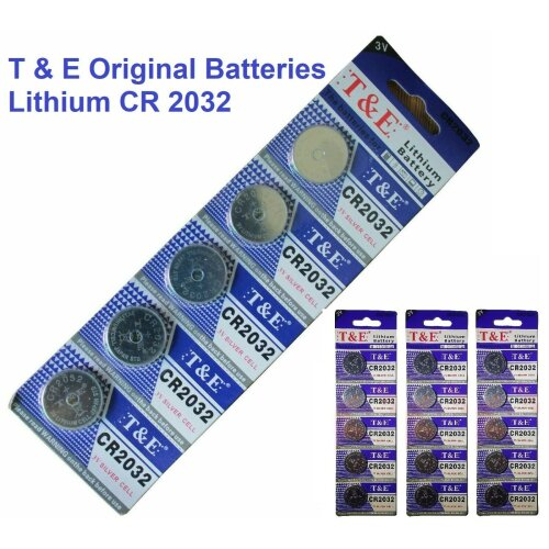 25 x CR2032 Battery Branded LITHIUM Coin Cell Button BR2032 DL2032 3V