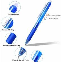 Erasable Gel Pens Retractable Friction Ball Pens