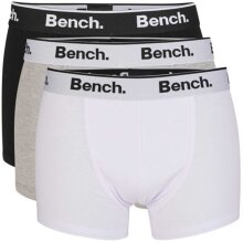 Bench Loyal 3 Pack Trunk Boxer Shorts
