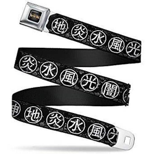 Seatbelt Belt - Yu Gi oh! - V.1 Adj 24-38' Mesh New yoa-wy0006
