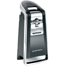 Hamilton Beach Electric Automatic Can Opener with Easy Push Down Lever
