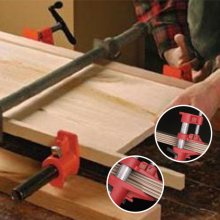 "1xHeavy Duty Quick Release 1/2""Wood Gluing Pipe Clamp For Woodworking"