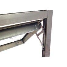 16inch Aluminum window wind Brace/Slider/hinges,Limiter,bearing 28kg
