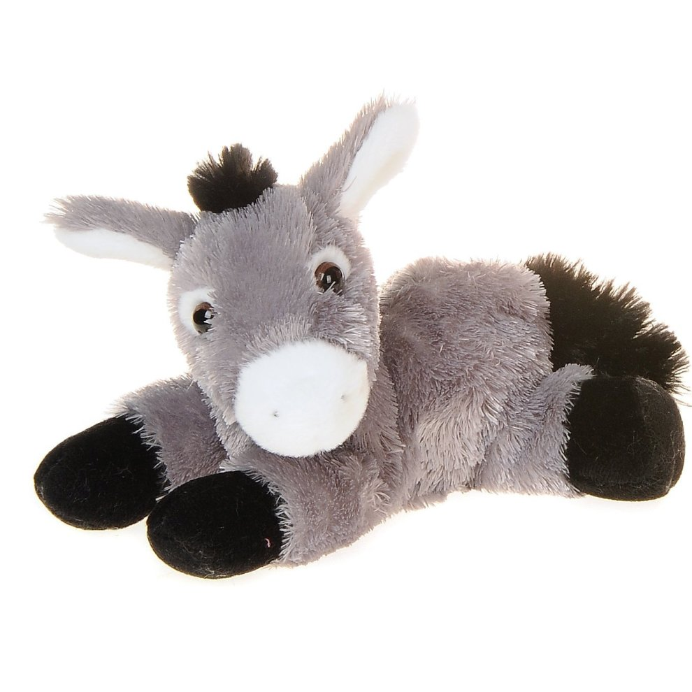 "8"" Mini Flopsie Donkey Soft Toy - Aurora 8inch -  aurora flopsie donkey 8inch"